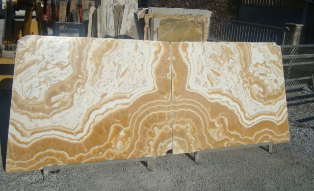 Egyptian Alabaster Booked Match